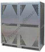 propane, acetylene, welding medical gas cylinder storage cage