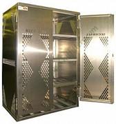 LP cylinder storage gas cage